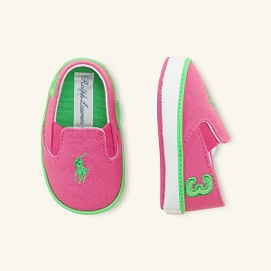 Polo Ralph Lauren Serena Slip On Sneaker, Active Pink