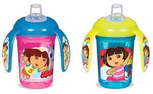 7 oz. Dora the Explorer Spill-Proof Trainer Cup