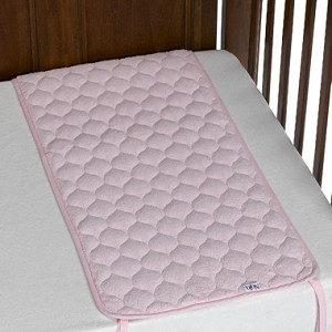 Sheet Saver Coral Fleece in Pink