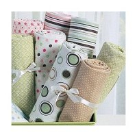 Kids Line Wrap Me Receiving Blankets 4 PK