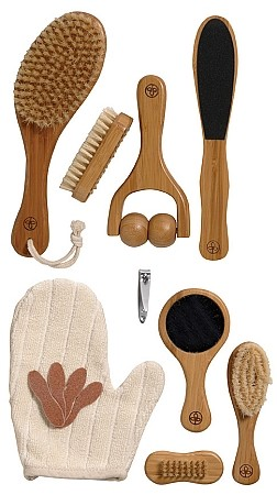 Mommy & Baby Bamboo Grooming & Bathing Set