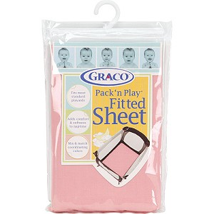 Graco Pack 'n Play Playard Sheet Pink
