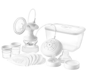 Tommee Tippee Closer to Nature Single� Electric Breast Pump System BPA free