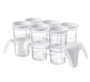 Tommee Tippee Closer to Nature� 6 Breast Milk Protection Pods & Storage Tray