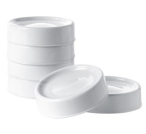 Tommee Tippee Closer to Nature� 6 Breast Milk Protection Lids