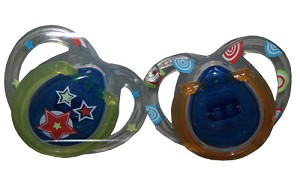 Tommee Tippee Closer to Nature� Stylish Shield Silicone Pacifier 0-6m BPA Free 2pk Boy