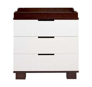 DaVinci 3 Drawer Changer Modo in White and Espresso