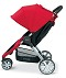 Britax B-Agile Stroller in Red - Side View