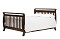 DaVinci Emily 4 in 1 Convertible Crib with Toddler Rail, Espresso