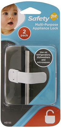 Safety 1st Multi Purpose Appliance Lock, 2 Pack White