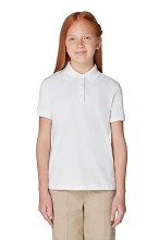 French Toast Girl Polo White Size 4T 40% off