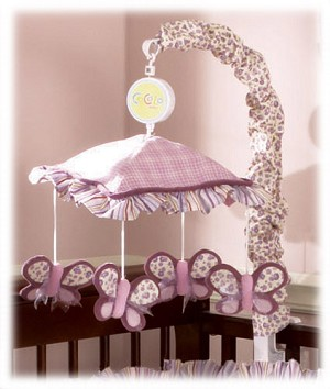 Cocalo Sugar Plum Crib Mobile