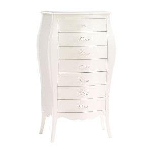 Natart Allegra Lingerie Chest in French White