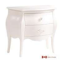Natart Juvenile Allegra Nightstand French White