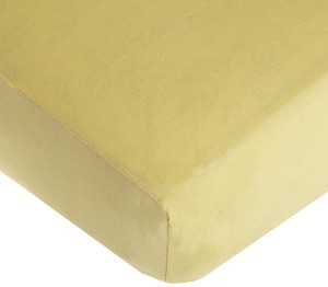 "American Baby Knit Crib Sheet Maize 28""x52"""