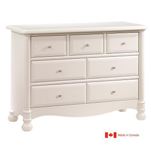Natart Avalon Double Dresser in Linen