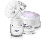 Philips AVENT Comfort Single Breast Pump Natural with 4oz Bottle