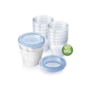 Philips Avent VIA Breast Milk Containers