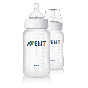 Philips Avent Classic Feeding Bottle, 11oz - 2 pack