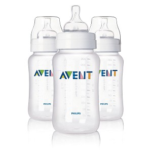 Philips Avent Classic Feeding Bottle, 11oz - 3 pack