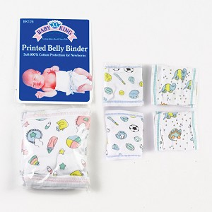 Baby King Belly Binder Printed