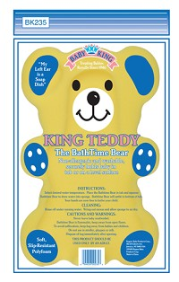 Baby King Teddy Bathtime Bear
