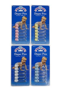 Baby King Diaper Pins