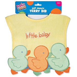 Baby King Self Closure Terry Bib Assorted Colors