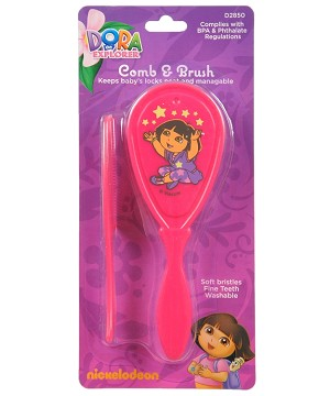 Baby King Dora Comb & Brush