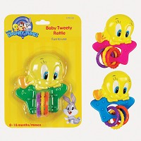 Baby King Baby Tweety Rattle 0-18mos