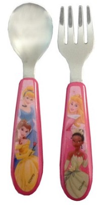 Baby King Disney Princess Fork & Spoon 6+ Months