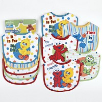 Baby King Sesame Street Beginnings™ 5-Pack Baby Bibs