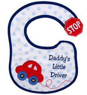 Baby Vision Bib Applique Side Closure