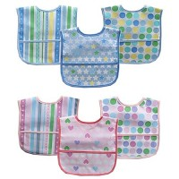 Baby Vision 3PK Polyester Bibs