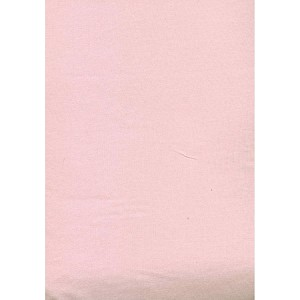Baby Vision Fitted Crib Sheet Pink