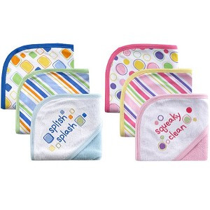 Baby Vision 3PK Hooded Towel 30x30 inches