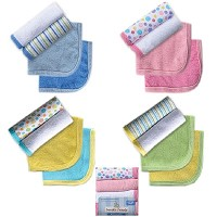 Baby Vision 4-PACK Wash Cloths