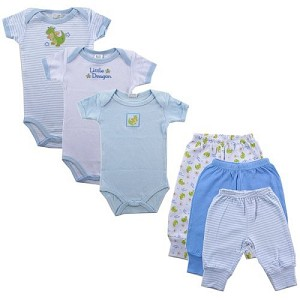 Baby Vision 6PC Grow With Me Layette Gift Set