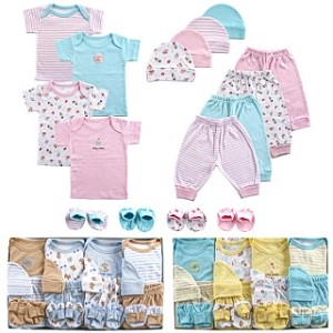 Luvable Friends 16 Piece Deluxe Layette Set Pink