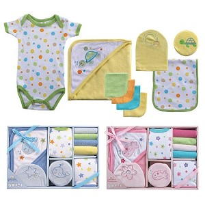 Baby Vision 9 Piece Gift Set Bath Time