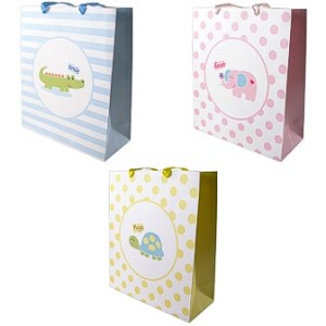 Baby Vision Ribbon Handle Gift Bag