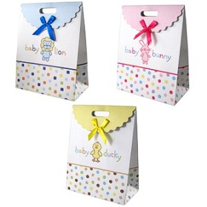 Baby Vision Fold Over Gift Bag