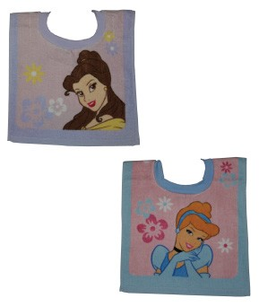 Disney Princess 2-Pack Pullover Bibs Toddler