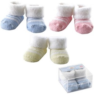 Baby Vision Boxed Fuzzy Cuff Socks