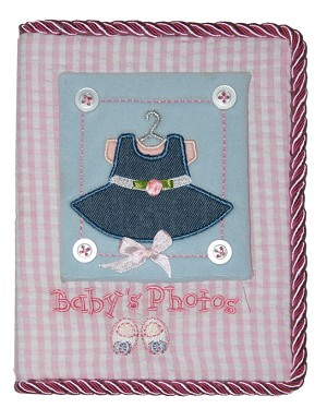 Baby Essentials� Baby First Photo Album Girl