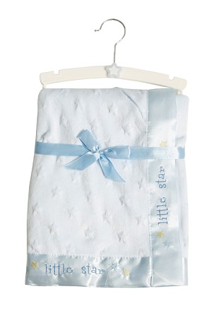 Baby Essentials Plush Stars Blanket