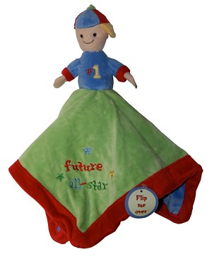 "Baby Essentials� 2-in-1 Reversible Snuggler ""Future all Star"""
