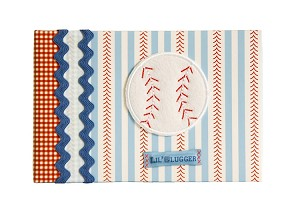 Baby Essentials Boy Brag Book, Baseball