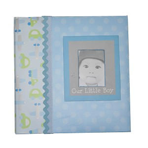 Baby Essentials� Photo Album Our Little Boy