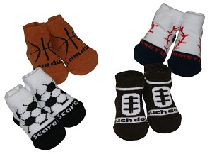 Baby Essentials� 4-Pairs of Socks Sports